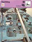FICHE CARD Lexique de A à F Accastillage Courageous Ardent Voilier Yacht 70s
