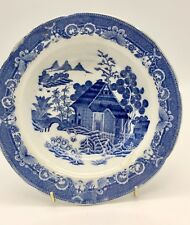 Wedgwood Pearl Ware Blue & White Pottery Bowl circa 1790