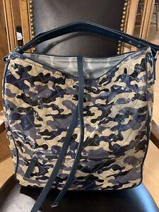 Vera Bradley XL Fenwick Hobo Glossy Camo Hobo Handbag $495