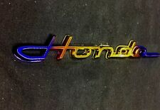 TITANIUM GOLD CHROME COLOR HONDA LOGO EMBLEM DECAL HONDA CIVIC JAZZ ACCORD FITT