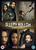 SLEEPY HOLLOW COMPLETE SERIES COLLECTION 1-4 DVD Season 1 2 3 4 UK Rel NEW R2