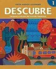 Descubre: Lengua y cultura del mundo hispánico, Level 1, Media Edition, Blanco,