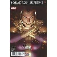 Squadron Supreme (2016 series) #9 in Very Fine + condition. Marvel comics [*q0]
