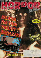 Magazin Horror 4/1994,Kreator,Pro Pain,Therapy?,Biohazard,Metal Church,..