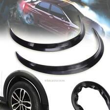 2 × Car Wheel Arch Trim Fender Flare Wheel Eyebrow Protector Sticker Strip 72cm