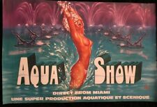 OKLEY AQUA SHOW DIRECT FROM MIAMI