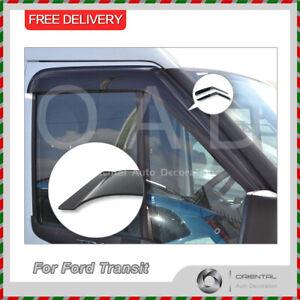 Premium Weather Shields Window Visors Weathershields For Ford Transit VM 06-13