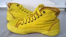 PANTOFOLA D'ORO SNEAKERS CANVAS TN47 GIALLO 36 YELLOW SHOES UNISEX UOMO DONNA