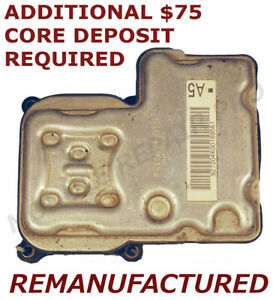 REMAN 1999-2005 Chevy Astro GMC Safari ABS Pump Control Module EBCM >EXCHANGE<