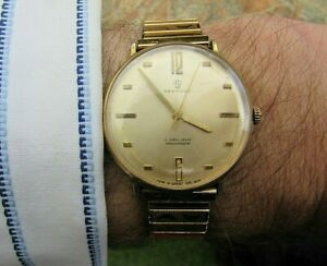 Vintage SERVICES 17Jewel British Made Gents Watch - GWO & Decent Condition 4 Age