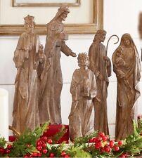 Nativity Set of 5 Created from beautiful natural stone powder.