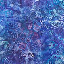 Robert Kaufman Batik Fabric By The Half Yard, AMD-18954-4-BLUE
