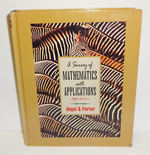 A Survey of Mathematics With Applications 5th Edition Angel & Porter 1997