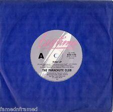 "THE PARACHUTE CLUB - RISE UP - 7"" 45 VINYL RECORD - 1983"