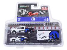 2014 DODGE RAM 1500 & 2016 CHARGER HELLCAT MOPAR 1/64 GREENLIGHT 51061 D