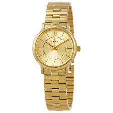 DKNY Willoughby Gold Tone Dial Ladies Watch NY2548