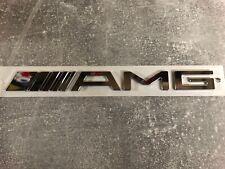 AMG Logo  Chrom Schriftzug selbstklebend original