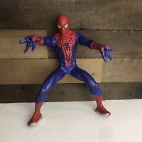 "Spider-Man Motorized Web Shooting 13.5"" Action Figure Hasbro 2012 Marvel Toy"