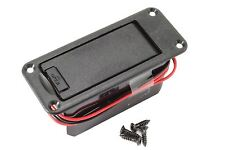 GOTOH BB-04 9 volt Battery Compartment Box - Black for guitars and basses