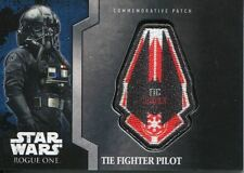 Star Wars Rogue One Mission Briefing Commemorative Patch Card MP-6 TIE Pilot