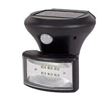 LED Solar-Wandlampe mit Bewegungsmelder Außenleuchte Solarleuchte Gartenlampe
