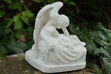 RE0023   FIGURINE STATUETTE REPRODUCTION LE MURMURE  DE  L  ANGE  STYLE ALBATRE