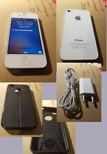IPHONE 4S 4G 32GO DÉBLOQUE + COQUE PROTECTION AUTO FOCUS BON ÉTAT GÉNÉRAL.
