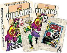 Marvel Villanos Retro Juego De Naipes (+ comodines) (casi como nuevo 52327)