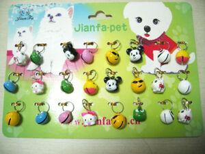 24 Pet Dog Cat Collar Animal Bell Accessories wholesale