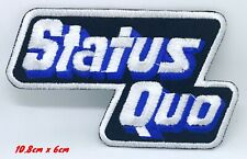 Status Quo English rock band Iron or Sew On Patch #1291