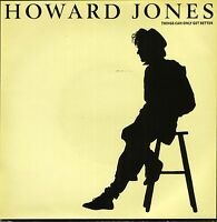 "HOWARD JONES things can only get better/why look for the key HOW 6 7"" PS EX/EX"