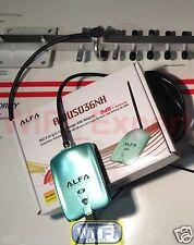 WiFi Antenna 18dBi YAGI + ALFA N Super Long Range Booster GET FREE INTERNET USA