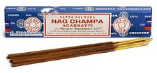 3 Packs Origional Satya Sai Baba Nag Champa Incense Sticks Joss Insence - Ins...