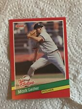 1991 (TIGERS) Donruss The Rookies #29 Mark Leiter