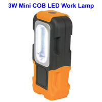 Mini Bright COB LED Magentic Foldable Work Light For Car Home Work Torch Lamp