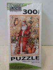 Lang Companies,  Woodland Santa 300 Piece Puzzle new sealed