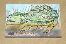 2015 Upper Deck DINOSAURS sketch card ANKYLOSAUR SC-ANK Rusty Gilligan