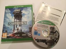 XBOX ONE XB1 GAME STAR WARS BATTLEFRONT BATTLE FRONT +BOXED COMPLETE PAL VGC