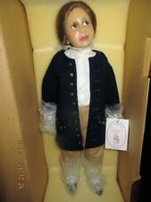 Diane Keeler 21 Inch Resin Benjamin Franklin Doll + Coa 74/1000 Ww Hat Kite Keys