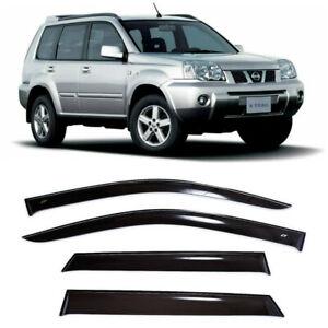 For Nissan X-Trail T30 2001-2007 Window Visors Sun Rain Guard Vent Deflectors