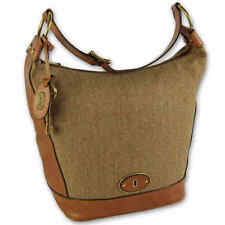 ZB5201235 Fossil Vintage Reissue Canvas / Leather Hobo Bag Tan/Camel £179.00