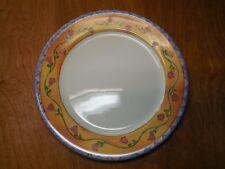 "Sango THE SWEET SHOPPE Sue Zipkin Set of 4 Dinner Plates 11"" 4 designs"
