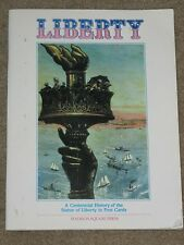 Liberty : A Centennial History of the Statue of Liberty~36 Post Cards~USA~1986