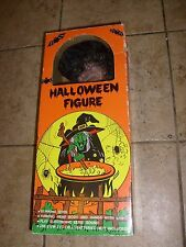Vintage 1989 Sancho Walking Witch Monster Motionette Box Halloween Prop MIB