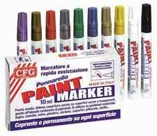 PENNARELLO PAINT MARKER MARCATORE COPRENTE SET 12 PEZZI