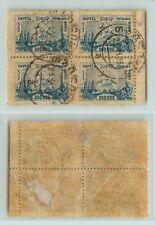 Transcaucasian 1923 SC 19 used block of 4 . e2148