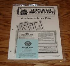 1930 Chevrolet Service News Magazine Complete Set 30 Chevy
