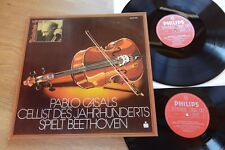 Pablo Casals Beethoven violoncello Trio Vegh Kempf 2 LP PHILIPS 6747.475 GATEFOLD