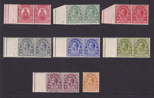 Turks & Caicos. 1921. SG 154-161, 1/4d to 1/-. Fine mounted mint.