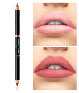 Vincent Longo Duo Matte Lip Pencil, Soft Pink & Spring Rose NEW